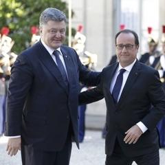 Порошенко та Олланд домовились провести українсько-французьський інвестиційний форум