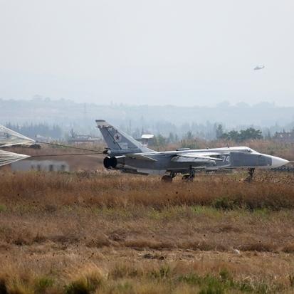Росія підтримує наземні дії армії Асада з повітря