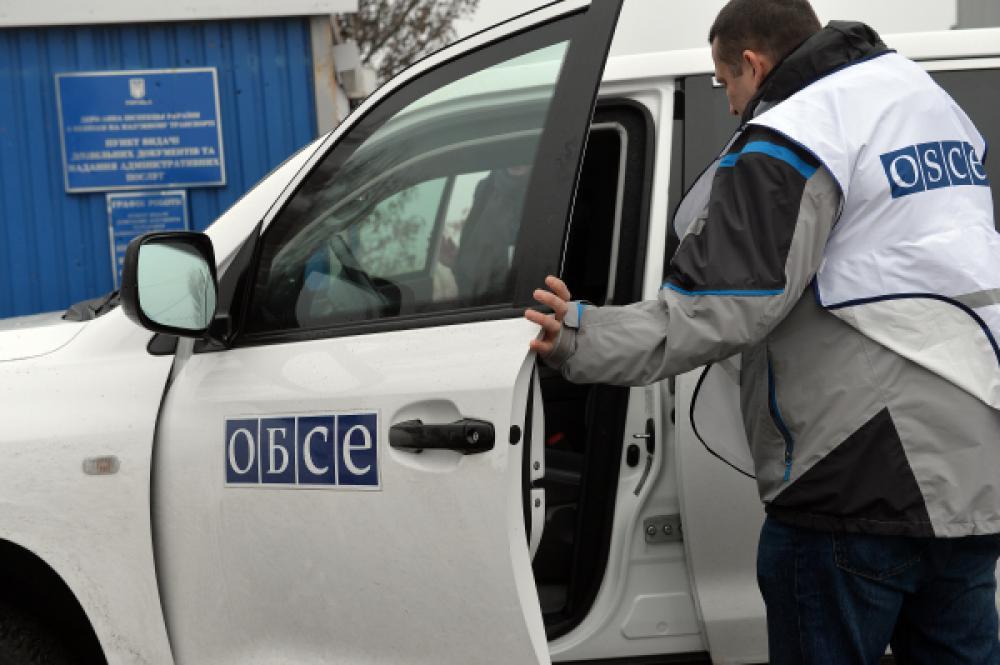 Місія ОБСЄ отримала доступ докордону зРосією, незважаючи наперешкоди бойовиків