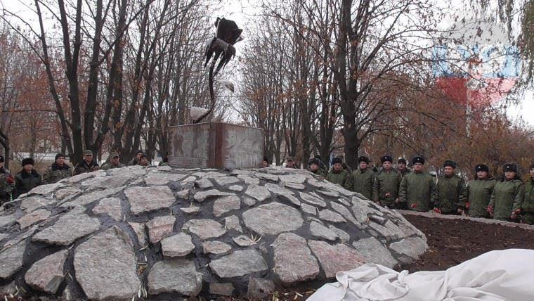 Пам'ятник беркутівцям встановили у в'язниці Донеччини
