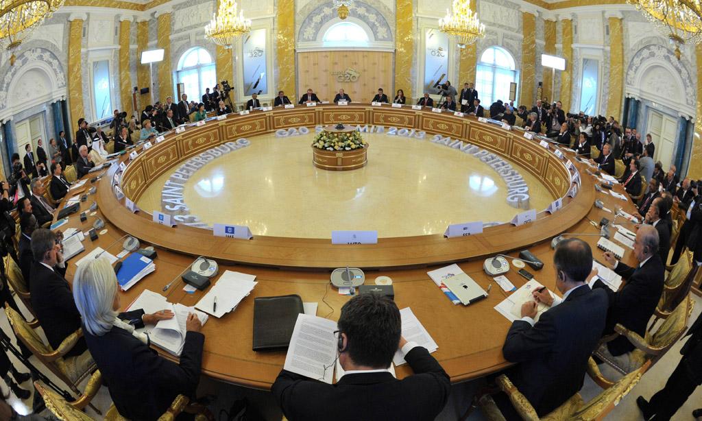 Барак Обама і Володимир Путін поговорили наполях саміту G20 вАнталії