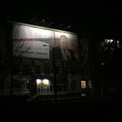 Путін понад усе: у знеструмленому Сімферополі замість вулиць підсвічують білборди з президентом РФ