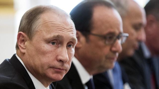 Олланд: Франція і Росія домовилися координувати повітряні удари по ІД
