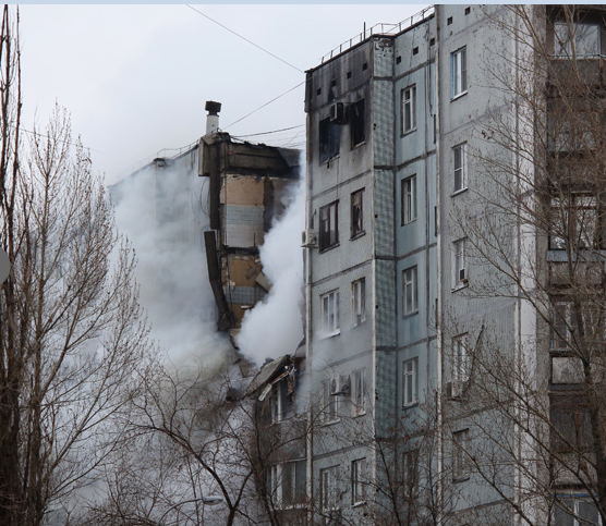 Одна людина загинула, 11 поранені внаслідок вибуху вросійському Волгограді