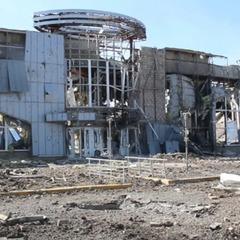 У мережі з'явилося відео руїн луганського аеропорту