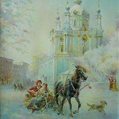 Зустріч із долею в Андріївській церкві, борщ із «балабушками», містерії та ворожіння - новорічні свята у старому Києві