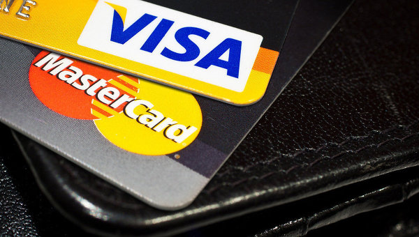 Російські банки відключили від Visa і MasterCard зароботу вКриму,— ЗМІ
