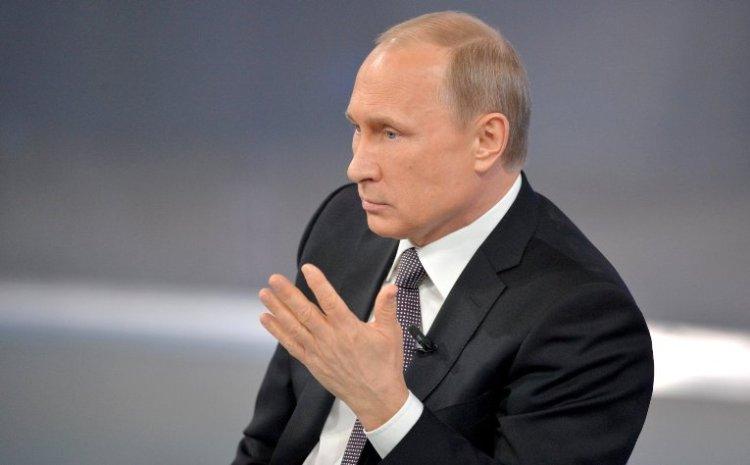 Путін звинуватив спекулянтів узниженні життєвого рівня росіян