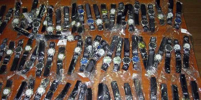 СБУ вилучила контрабандні брендові годинники на400 млн грн