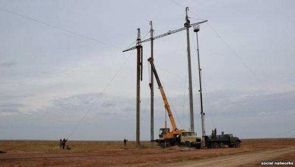 Через аварію перервано енергопостачання Україною Криму