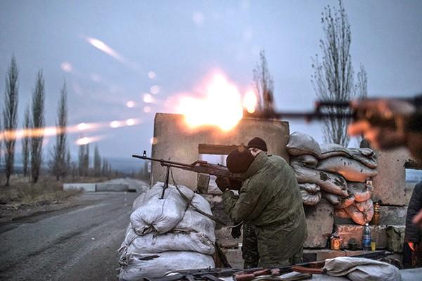 Українських військових обстріляли 42 рази— Ніч вАТО