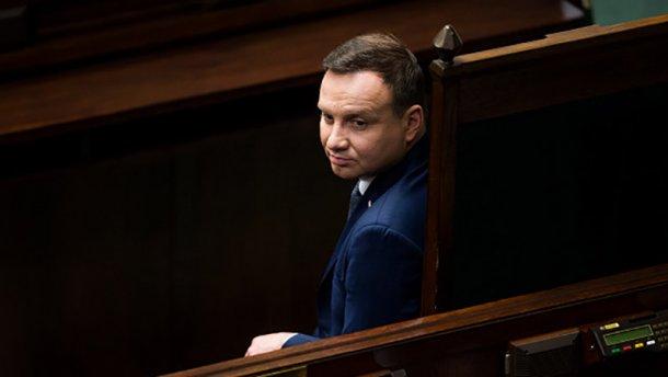 Президент Польщі Анджей Дуда підписав закон про ЗМІ