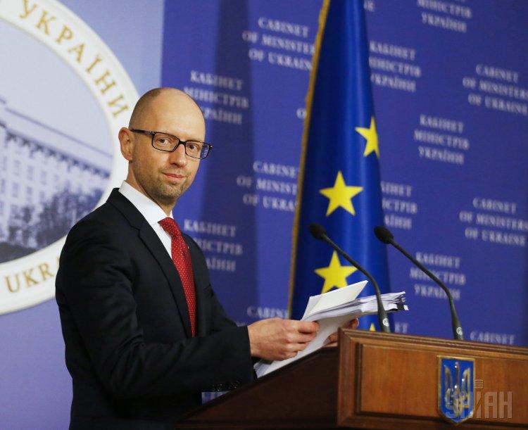 А.Яценюк: ВУкраїні є достаній обсяг газу вгазових сховищах