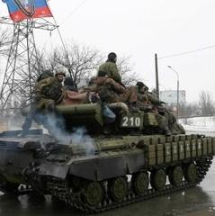 Бойовики стягують живу силу і техніку до західного району Донецька - розвідка