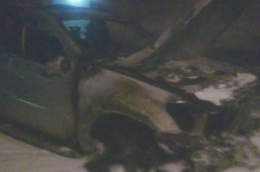 Поліція кваліфікувала як підпал загорання автомобіля екс-голови Закарпатської облради