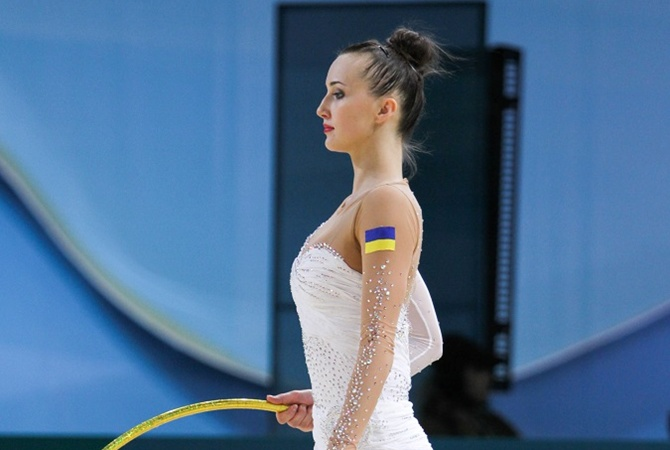 Українська гімнастка Г.Різатдінова здобула перемогу назмаганнях уЛос-Анджелесі