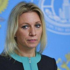 Питання українського журналіста загнало в глухий кут речницю МЗС Росії