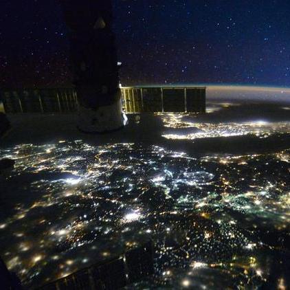 З'явилися дивовижні знімки землі з космосу (фото)