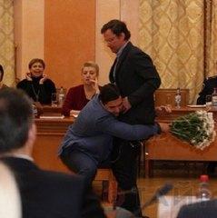 На сесії Одеської міськради Боровика винесли із зали на руках (ВІДЕО)