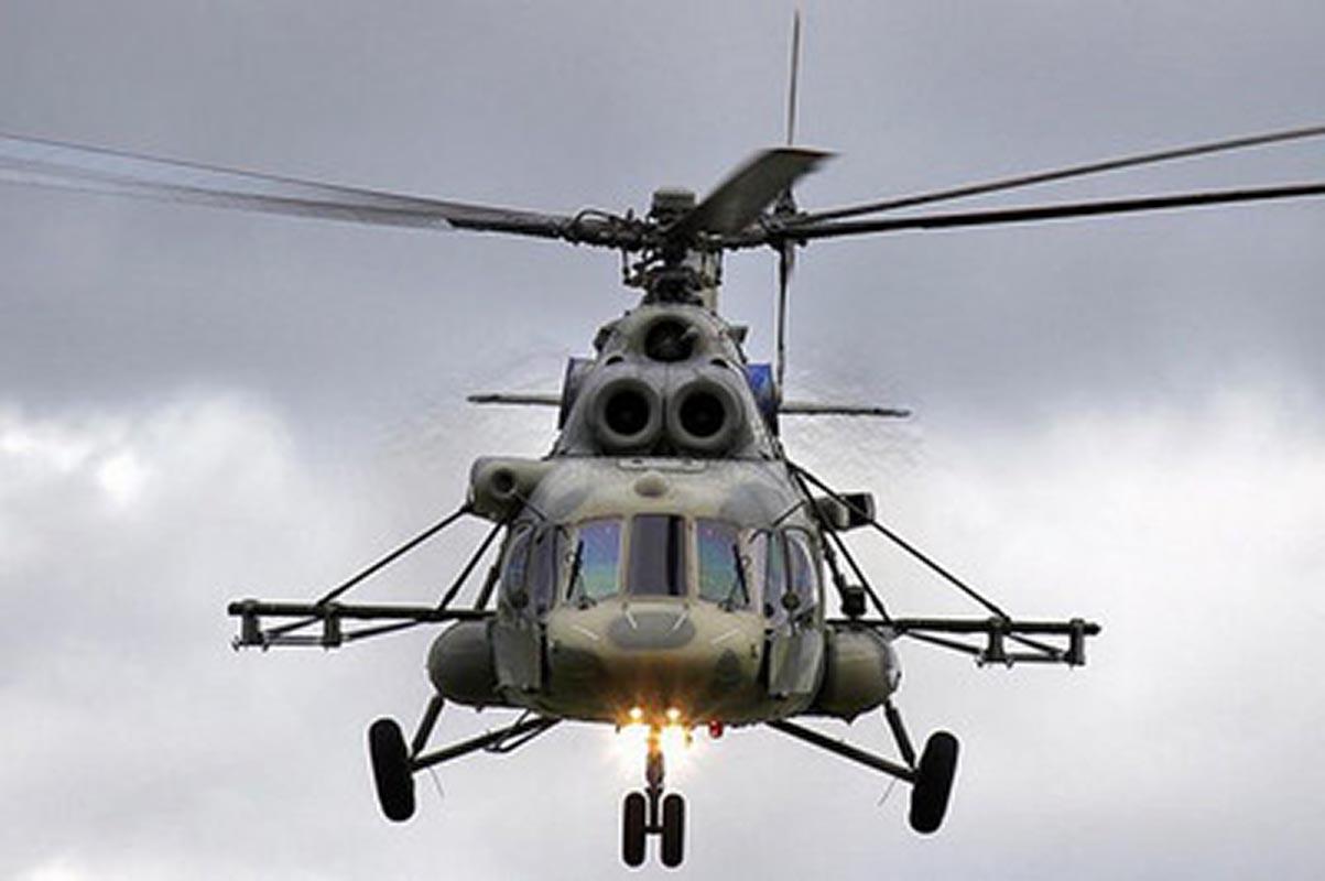 Російський вертоліт МІ-8 порушив повітряний простір України