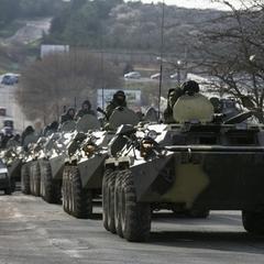 Колону російської військової техніки засікли на кордоні під Ростовом (ВІДЕО)
