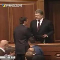 Порошенко назвав Луценка визначним політичним діячем