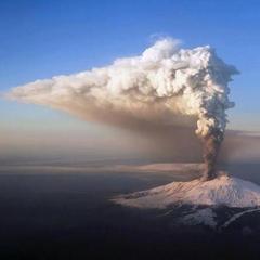 Коста-Ріка страждає через вулкан