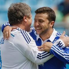 Зеленський зіграв у футбол проти Динамо