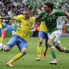 Швеція і Ірландія завершили матч без переможця