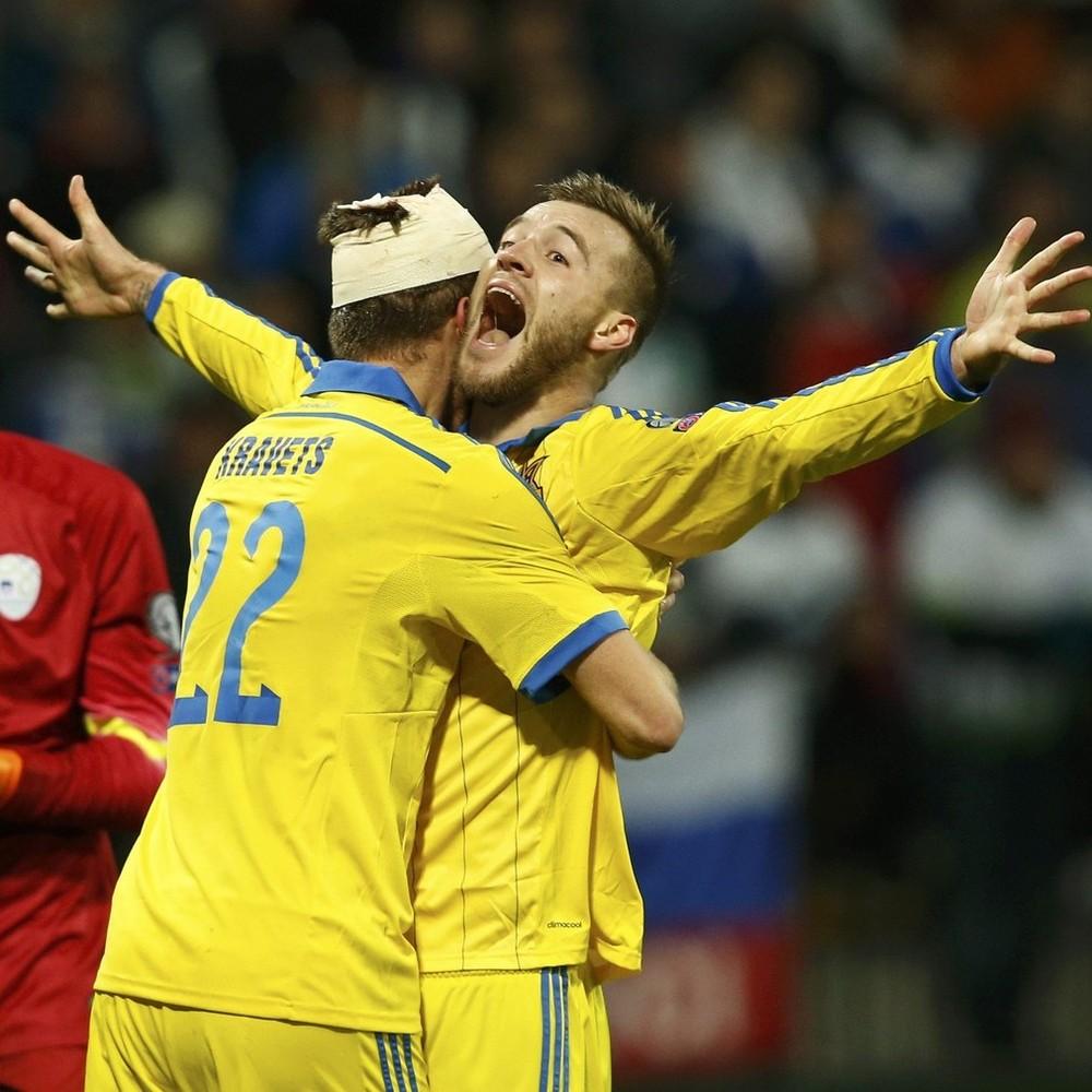 Топ-10 найкращих голів збірної України (відео)