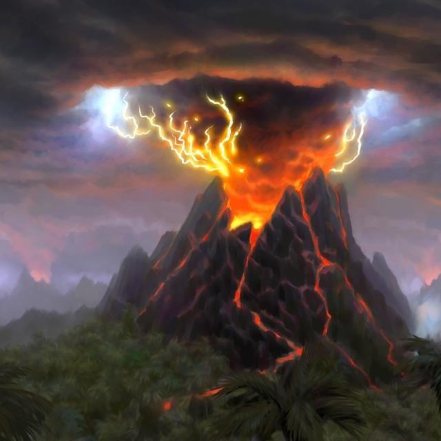 Вулканічна блискавка у лабораторії: вражаюче відео