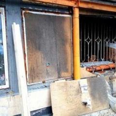 У Донецьку вщент згорів магазин