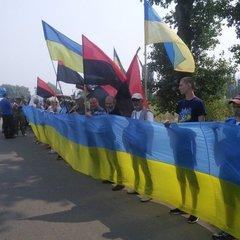 Під Борисполем активісти створили блокпост, аби не пускати Хресну ходу