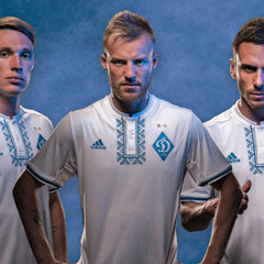 Київське «Динамо» презентувало нову форму з елементами українського орнаменту