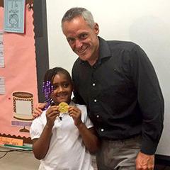 Семирічна американка знайшла в смітті золоту медаль Олімпійських Ігор-1992