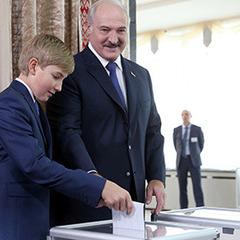Прес-секретар Лукашенка пояснила, куди зник син президента