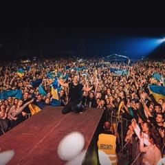Концерт «Океану Ельзи» у прифронтовому Краматорську зібрав 50 тисяч слухачів