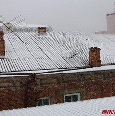 Вінницю замело снігом (фоторепортаж)