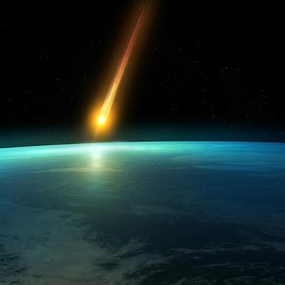 Виявлення комети на Землі