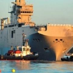 Французькі «Містралі» Росія отримала від Єгипту за 1$