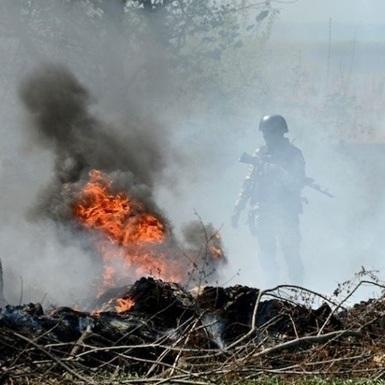 Позиції сил АТО 54 рази обстріляли із застосуванням важкої зброї