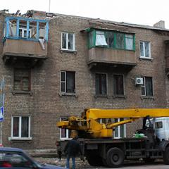 Фоторепортаж із Макіївки: Як виглядає місто після обстрілу 27 жовтня