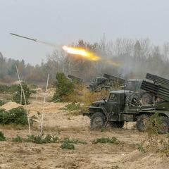Змагання на кращу артилерійську батарею ЗСУ на полігоні Дівички