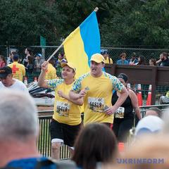 Реабілітовані учасники АТО пробігли 10 км на марафоні в США