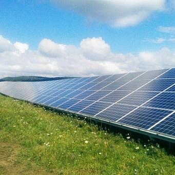 На Прикарпатті збудували сонячну електростанцію