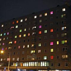 У Фінляндії мешканці перетворили звичайний будинок в арт-інсталяцію