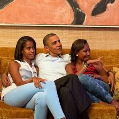 Обама вперше дозволив опублікувати фото президентських покоїв в Білому домі (фото)