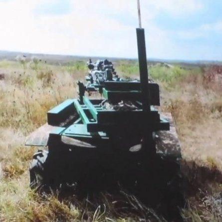Українські інженери розробили робота-мисливця на російських снайперів (відео)