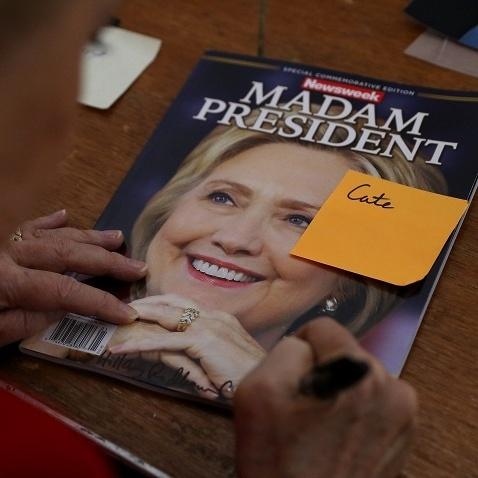 Журнал Newsweek оголосив Клінтон президентом США