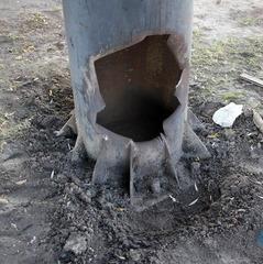 В Луганську підірвали сепаратистську «Зірку перемоги» (відео)